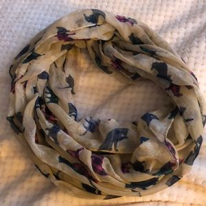 infinity scarf with cat print